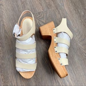 New in Box Madewell The Sigrid Clog Sandals 10